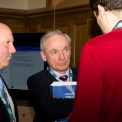 Donncha Ó Treasaigh, Minister for Education & Skills, Richard Bruton TD & Stevan Daly (Camara)