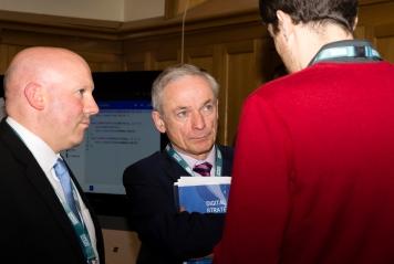 Donncha Ó Treasaigh, Minister for Education & Skills, Richard Bruton TD & Stevan Daly (Camara)