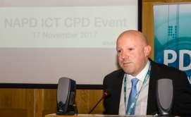 Donncha Ó Treasaigh, Chairperson of NAPD ICT