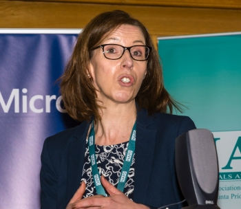 Madeleine Murray speaking about PDST ICT Professional Development