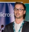 Eoghan Keegan speaking about Google Professional Development