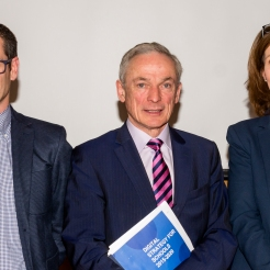 Keynote Speakers - Eoghan Keegan, Seán Ó Grádaigh, Minister for Education & Skills, Richard Bruton TD, Madeleine Murray PDST, Steven Duggan